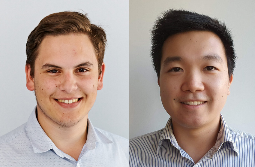 Left - James Aloi, Right - Andrew Chan