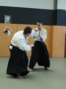 Bruno practicing Aikido